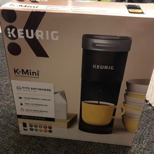 Brand new, never opened Keurig K-mini